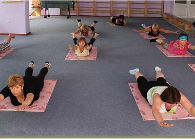 Лечебная гимнастика в санатории