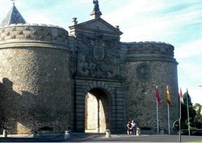 Ворота Висагра, Толедо, Испания.