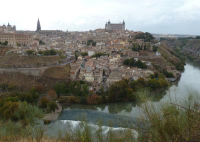 Вид на старый город. Толедо, Испания