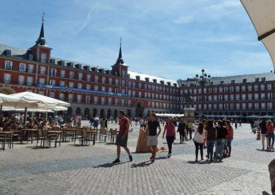 Кале Майор - главная площадь Мадрида, Испания