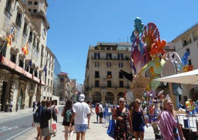Фестиваль Hogueres de Sant Joan. Аликанте, Испания