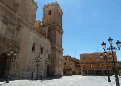Соборная площадь в Эльче, Испания