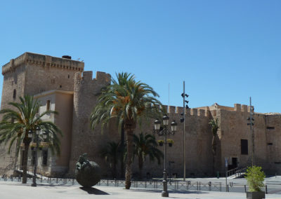 Старинная крепость. Эльче, Испания