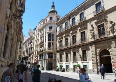 Одна из улиц. Мурсия, Испания