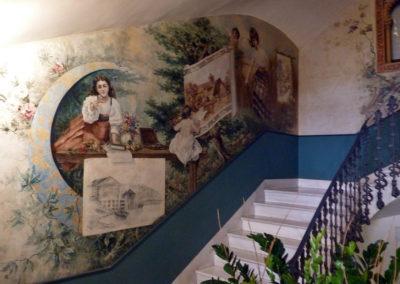 Интерьер старинного особняка. Мурсия, Испания
