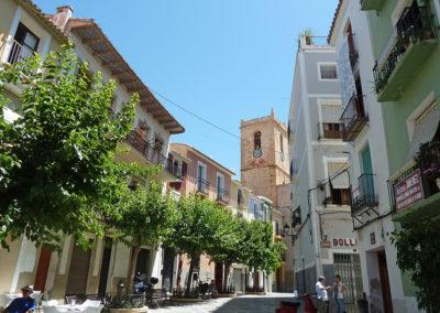 Одна из площадей Вильяхойоса, Испания