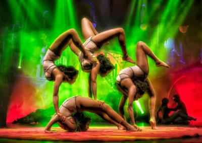 Цирковое шоу Cabaret Maldito Сусо Сильвы. Аликанте, Испания