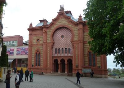Синагога в Ужгороде - сейчас филармония