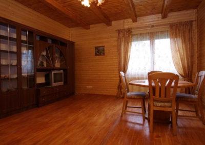 Салон на первом этаже. Отдых в коттеджах в горах Закарпатья