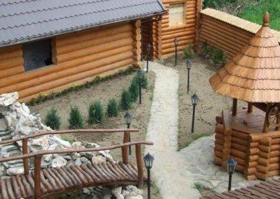 Баня, сауна. Отдых в коттеджах в горах Закарпатья