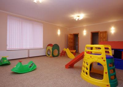 Детская игровая комната. Отдых в коттеджах в горах Закарпатья