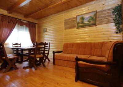 Салон на 1 этаже. Отдых в коттеджах в горах Закарпатья