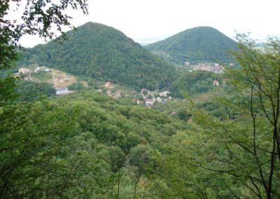 Село Шаян в горах Закарпатья
