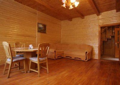 Салон-прихожая на 1 этаже. Отдых в коттеджах в горах Закарпатья