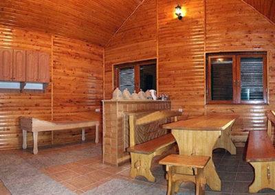 Сауна. Отдых в коттеджах в горах Закарпатья