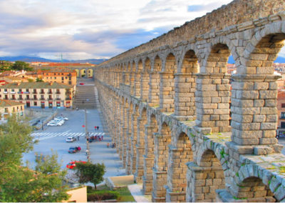 Римский акведук, Сеговия, Испания