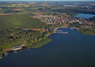 Озеро Негоцин, город Гижицко. Мазуры, Польша.