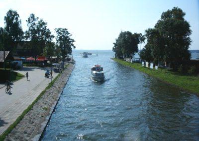 Канал в Гижицко. Мазуры, Польша.