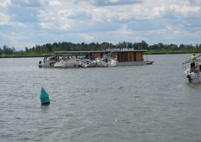 Закусочная посреди озера. Мазуры, Польша.