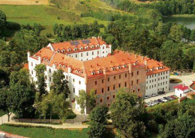 Замок Рын. Мазуры, Польша.