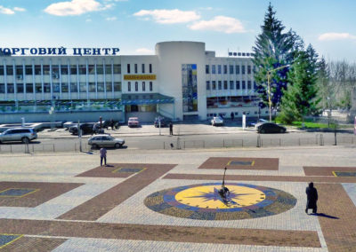 Центр города Иршава, Закарпатье