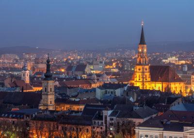 Вид с Крепостного холма, Клуж-Напока, Румыния