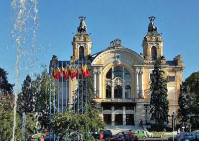 Национальный театр. Клуж-Напока, Румыния