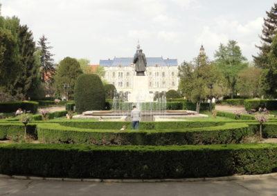 Главная площадь, Сату-Маре, Румыния
