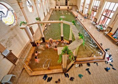 Термальный бассейн. Жаворонок, Берегово