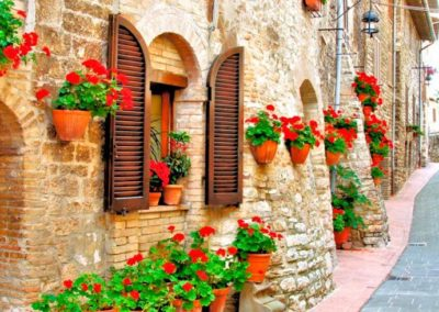 Неаполь, улочка. Италия